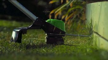 GreenWorks Pro 60V 16-Inch String Trimmer TV Spot, 'Beyond Ordinary' - Thumbnail 5