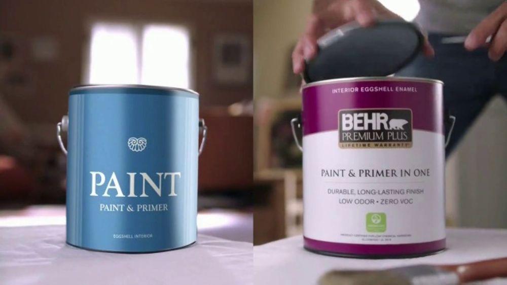 Beau BEHR PREMIUM PLUS Interior TV Commercial, U0027Ordinary Vs. Overachieveru0027    ISpot.tv