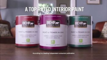 BEHR PREMIUM PLUS Interior TV Spot, 'Ordinary vs. Overachiever' - Thumbnail 7