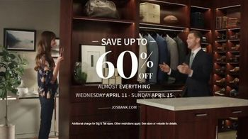 JoS. A. Bank Up to 60 Percent Off Sale TV Spot, 'What You're Looking For' - Thumbnail 10