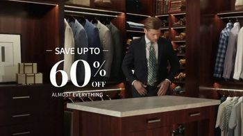 JoS. A. Bank Up to 60 Percent Off Sale TV Spot, 'What You're Looking For' - Thumbnail 3