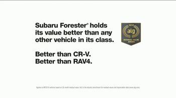 2018 Subaru Forester TV Spot, 'Happy' [T1] - Thumbnail 7