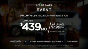 Chrysler Spring Sales Event TV Spot, 'Chair' [T2] - Thumbnail 8