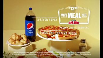Papa John's $12.99 Papa's Meal Deal TV Spot, '12.99 of Better Drag Racing' - Thumbnail 9