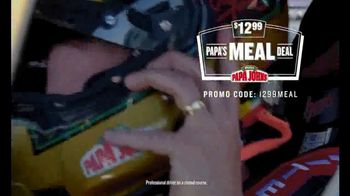 Papa John's $12.99 Papa's Meal Deal TV Spot, '12.99 of Better Drag Racing' - Thumbnail 1