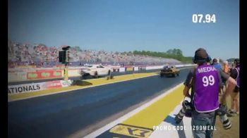 Papa John's $12.99 Papa's Meal Deal TV Spot, '12.99 of Better Drag Racing' - Thumbnail 4