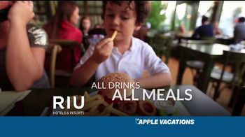 Apple Vacations TV Spot, 'Unforgettable Family Memories: Riu Hotels' - Thumbnail 6
