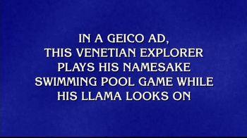 GEICO TV Spot, 'Jeopardy!: Marco Polo'