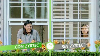 Zyrtec TV Spot, 'Disfruta la primavera' con Francisca Lachapel [Spanish]