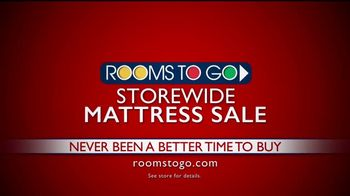 Rooms to Go Storewide Mattress Sale TV Spot, 'Tempur-Pedic Floor Samples' - Thumbnail 10