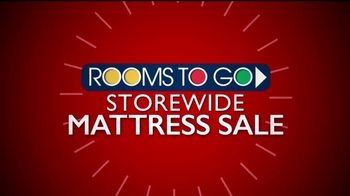 Rooms to Go Storewide Mattress Sale TV Spot, 'Tempur-Pedic Floor Samples' - Thumbnail 2