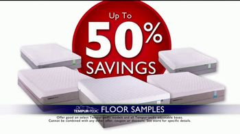Rooms to Go Storewide Mattress Sale TV Spot, 'Tempur-Pedic Floor Samples' - Thumbnail 7