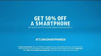 AT&T Wireless TV Spot, 'More for Your Thing: 50 Percent Off Smartphones' - Thumbnail 6