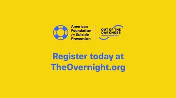American Foundation for Suicide Prevention TV Spot, '2018 Overnight' - Thumbnail 9