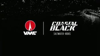 VMC Coastal Black Saltwater Hooks TV Spot, 'Stronger, Sharper, Blacker' - Thumbnail 7