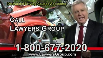 Lawyers Group TV Spot, 'Distracted Drivers' - Thumbnail 6