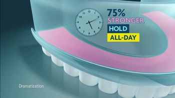 Sea Bond Denture Adhesive Seals TV Spot, 'Holds Strong Without Ooze' - Thumbnail 9