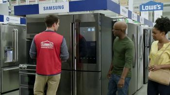Lowe's Spring Black Friday TV Spot, 'Not Enough Fridge: $500 Off' - Thumbnail 3