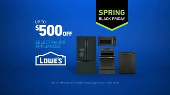 Lowe's Spring Black Friday TV Spot, 'Not Enough Fridge: $500 Off' - Thumbnail 7