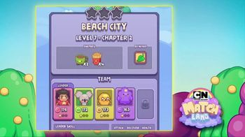 Cartoon Network Match Land TV Spot, 'Major Snack Attack' - Thumbnail 4