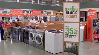 The Home Depot Spring Black Friday TV Spot, 'More Right: Kitchen Suite' - Thumbnail 4
