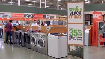 The Home Depot Spring Black Friday TV Spot, 'More Right: Kitchen Suite' - Thumbnail 5