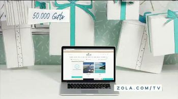 Zola TV Spot, 'Everything Guests Love to Give' - Thumbnail 4