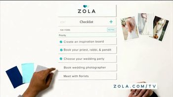 Zola TV Spot, 'Everything Guests Love to Give' - Thumbnail 7