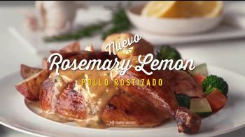Boston Market Pollo Rostizado Rosemary Lemon TV Spot, 'Natural' [Spanish]