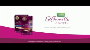 Depend Silhouette Active Fit TV Spot, 'How Suzie Stays Active: Coupon' - Thumbnail 9