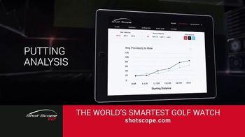 Shot Scope V2 TV Spot, 'Tour-Level Statistics'