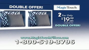 Magic Touch Pillow TV Spot, 'Vibrating Massage Pillow' - Thumbnail 9