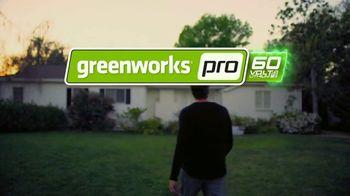 GreenWorks Pro 60V Cordless Brushless Axial Blower TV Spot, 'Ever-Evolving' - Thumbnail 5