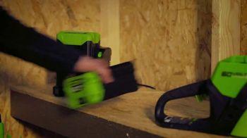 GreenWorks Pro 60V Cordless Brushless Axial Blower TV Spot, 'Ever-Evolving'