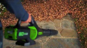 GreenWorks Pro 60V Cordless Brushless Axial Blower TV Spot, 'Ever-Evolving' - Thumbnail 2