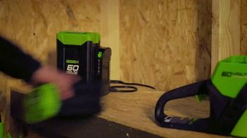 GreenWorks Pro 60V 21-Inch Lawn Mower TV Spot, 'Innovation'