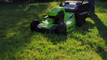 GreenWorks Pro 60V 21-Inch Lawn Mower TV Spot, 'Innovation' - Thumbnail 4