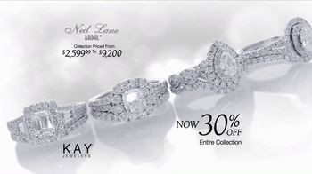 Kay Jewelers TV Spot, 'Like They Used To: Neil Lane Bridal: Save 30%' - Thumbnail 5