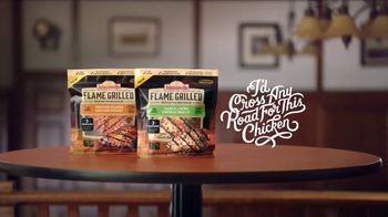 Johnsonville Flame Grilled Chicken TV Spot, 'I'd Cross Any Road' - Thumbnail 4