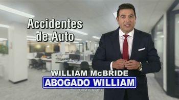 McBride, Scicchitano & Leacox, P.A. TV Spot, 'Víctima' [Spanish]