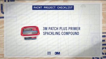 3M TV Spot, 'Paint Project Checklist' - Thumbnail 2