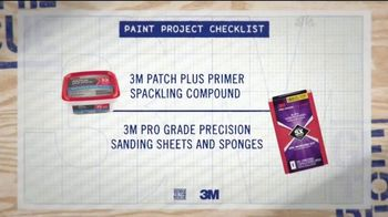 3M TV Spot, 'Paint Project Checklist' - Thumbnail 3