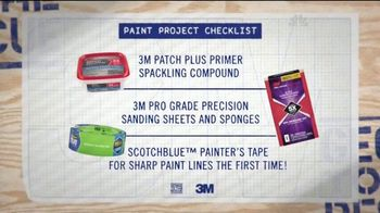3M TV Spot, 'Paint Project Checklist' - Thumbnail 4