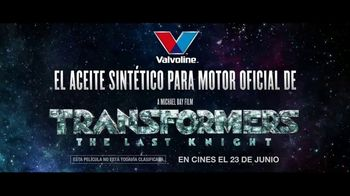 Valvoline TV Spot, 'Transformers: The Last Knight' [Spanish] - Thumbnail 6