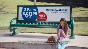 America's Best Contacts and Eyeglasses TV Spot, 'Playground' - Thumbnail 4