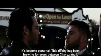Golden Boy Boxing TV Spot, 'Rivalry: Canelo vs. Chavez Jr.' - 10 commercial airings