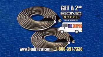 Bionic Steel Hose TV Spot, 'Stop Struggling' - Thumbnail 9