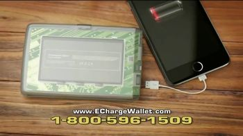 Bell + Howell E-Charge Wallet TV Spot, 'On the Go'
