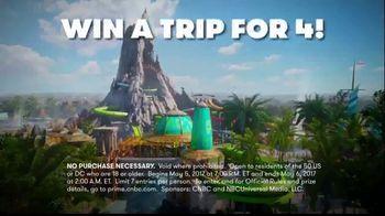 CNBC Universal Orlando Sweepstakes TV Spot, 'Trip for Four' - Thumbnail 2
