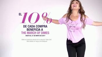 Macy's TV Spot, 'Colección Thalía Sodi: March of Dimes' [Spanish] - Thumbnail 6